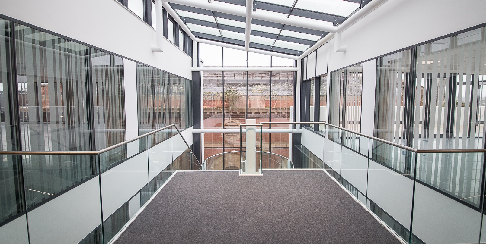 Office Glazed Partitions