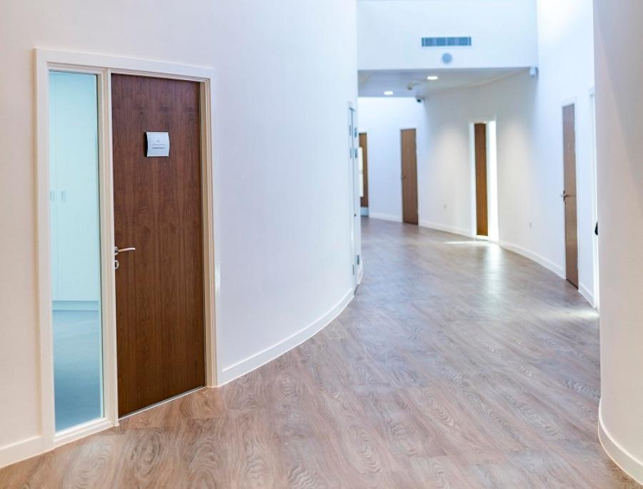 Caudwell Centre Office Glazing