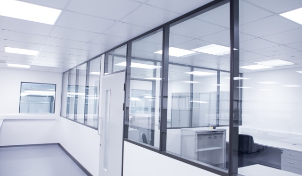 Double Glazed Framed Partitions
