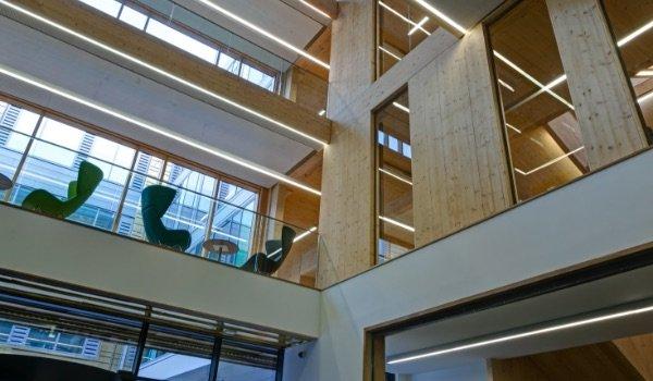Atria Glazing Installation