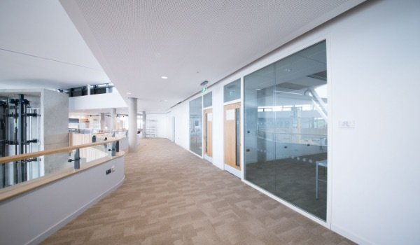 High Acoustic Glazing Installation