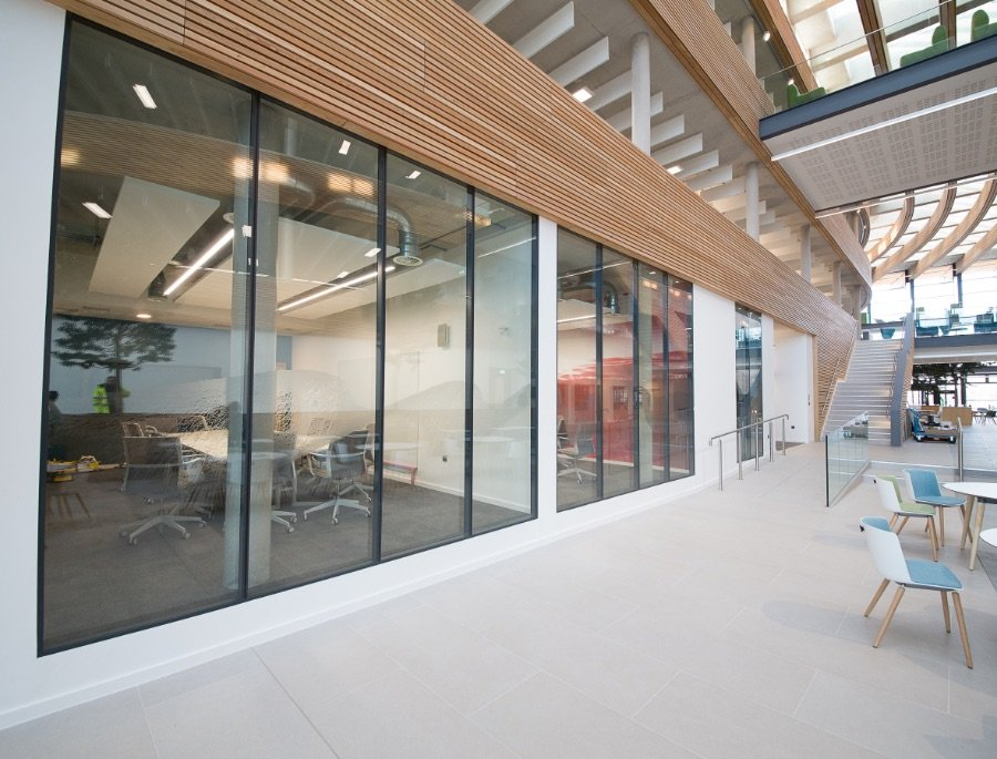 Glazed Partitioning Experts