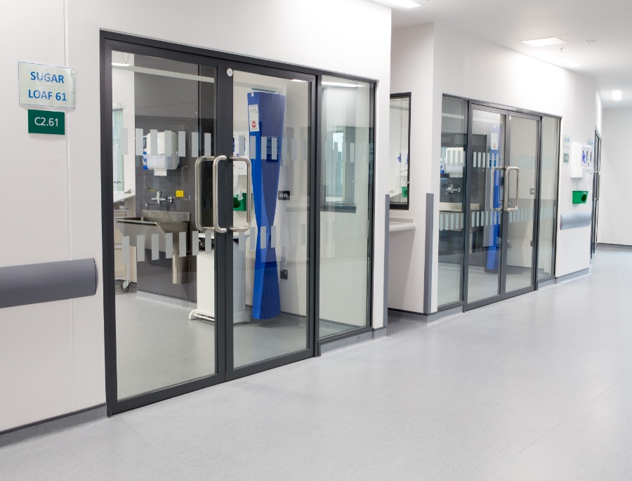 The Grange Hospital Glazing