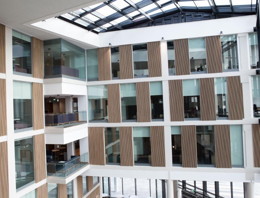 UWE Business School Glazed Atria Partitions