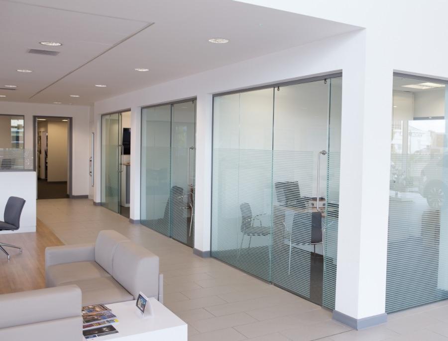 Exeter Showroom Glazing