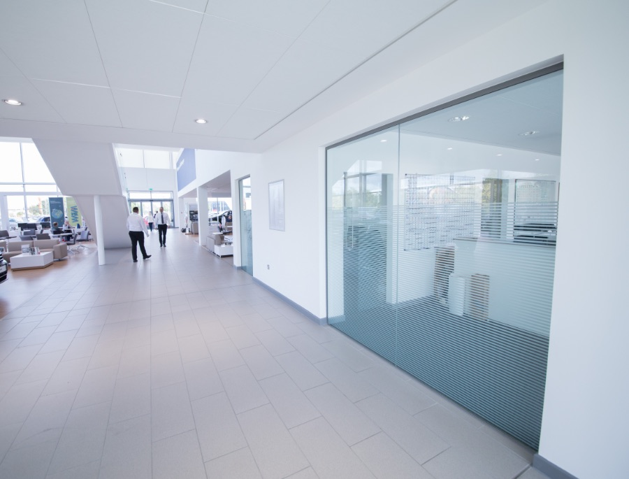 Showroom Glazing Exeter
